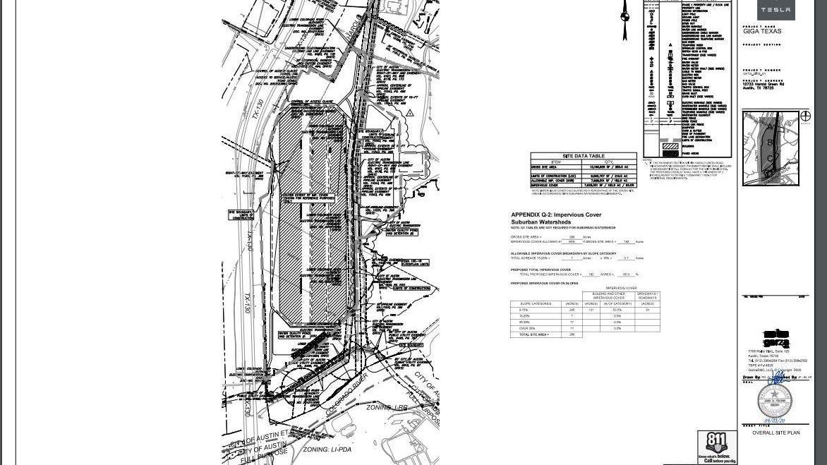 Tesla S Austin Site Plan Outlines Footprint For Huge Factory