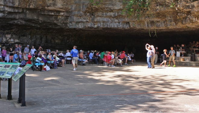 The 8th Annual Cooling at the Cave, sponsored by Friends of Dunbar Cave, will feature games, refreshments and live music from the Cumberland Winds Jazz Project this Saturday from 3 p.m. - 5 p.m.