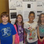 The LaMora Park Elementary Honors Team includes, from left: Wyatt Rypkowski, Taylor Phelps, La'Nyiah Vernon and Paige Phelps.