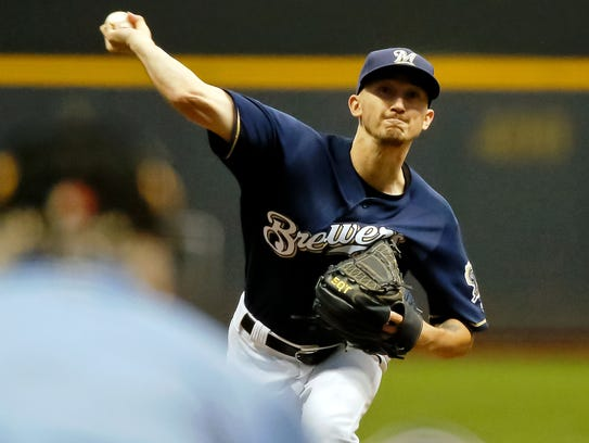 The Brewers' Zach Davies has continued to win and lower