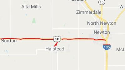 A project to mill and overlay U.S. 50 from the Reno County line to Interstate 135 will start in July and run into September, according to the Kansas Department of Transportation.