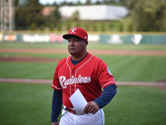 Tacoma Rainiers manager Pat Listach has spent time on big league coaching staffs and hopes to return to the majors.