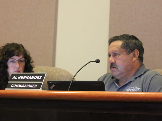 Commissioner Al Hernandez asked staff to put the amendment on Tuesday's agenda.