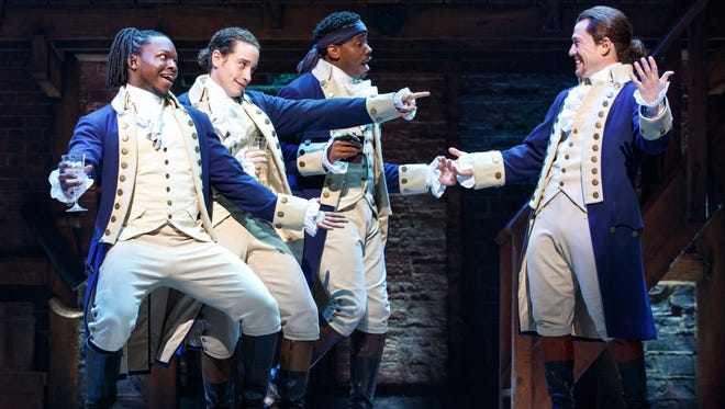"""Hamilton"" is coming to ASU Gammage on Jan. 30, 2018, for a four-week run."