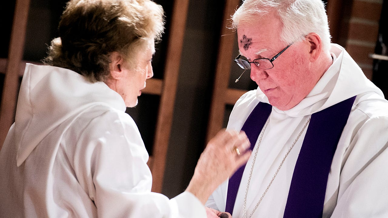 Ash Wednesday is marked as the beginning of Lent, which will go until Easter Sunday. Many congregated to local churches to receive ashes.