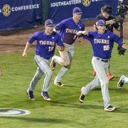 SEC Baseball Tournament 2016 - Game 8 Florida vs LSU