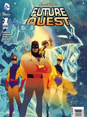 "Space Ghost, Jan, Jace and Blip are imporantant characters in ""Future Quest."""