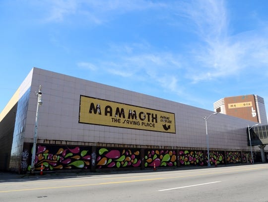 The Mammoth building at 15401 Grand River in Detroit.