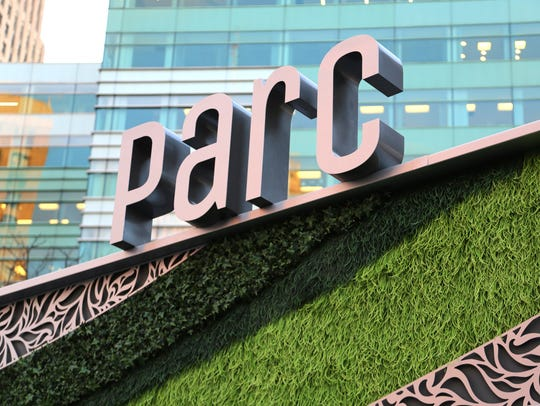 Parc, in downtown Detroit's Campus Martius Park, is