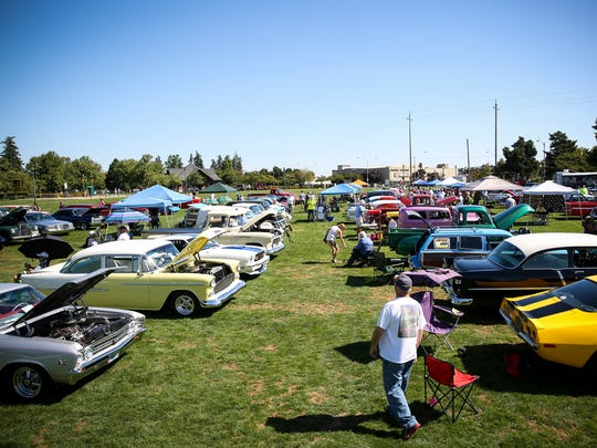 Last year, the Carousel Cruise brought over 225 cars to Riverfront Park on Saturday, Sept. 2, 2017.