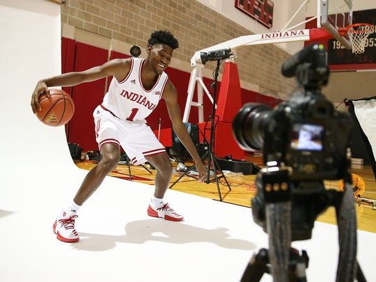 Aljami Durham was the first commit of the Hoosiers'