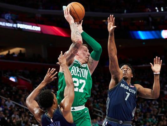 NBA: Boston Celtics at Detroit Pistons