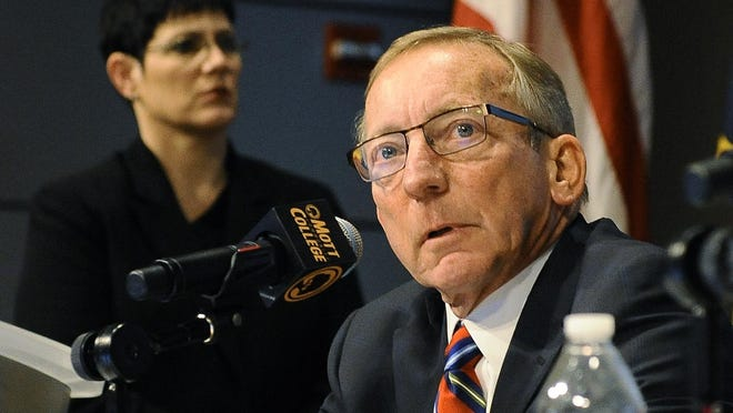 Former Michigan state Sen. Ken Sikkema, a Republican, is one of two leaders of a new bipartisan group proposing a gas tax increase to pump an extra $2.7 billion a year into road and bridge repairs.