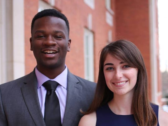 Jaren Stewart and Killian McDonald are the vice president and president, respectively, of Clemson University's Undergraduate Student Government for the 2017-18 school year.