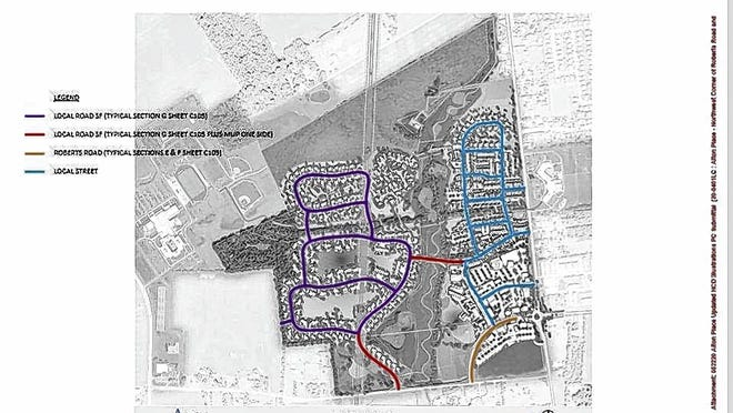 A rezoning application for Alton Place, a proposed $275 million mixed-use development at Alton Darby Creek and Roberts roads, could be considered by Hilliard City Council as soon as Monday, June 8, according to David Ball, director of communications for Hilliard.