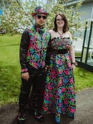Megan-Marie Lemieux and Brandon McNeil of Edmundston,
