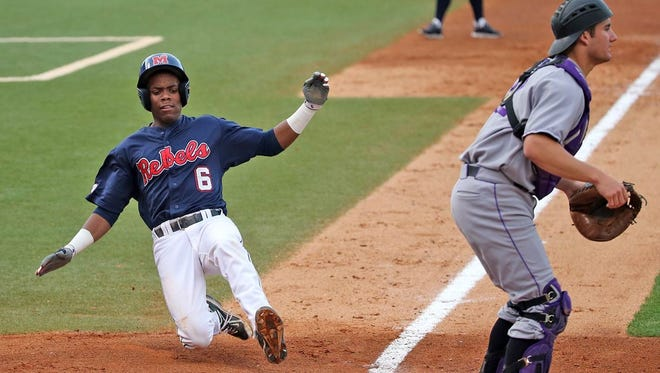Ole Miss shortstop Errol Robinson is one of a large number of returning Rebels from the 2015 season.