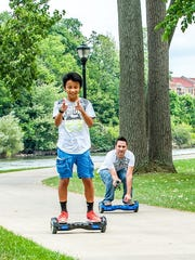 The Swagway X1 ($399.00) is a high-quality zero-emission self-balancing electric board that only uses Samsung and LG batteries, and can last up to 20 miles on a single charge.