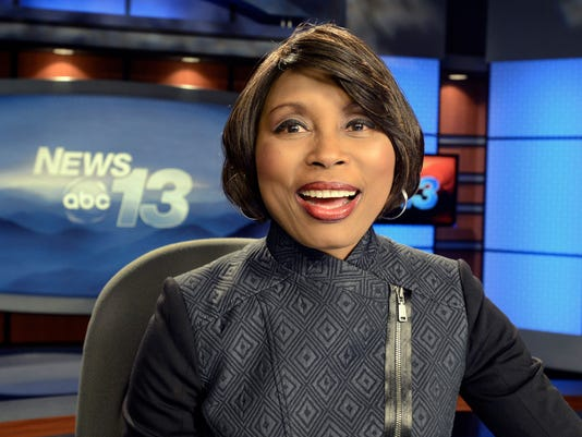Darcel Grimes has been the face of WLOS-TV for 33 years