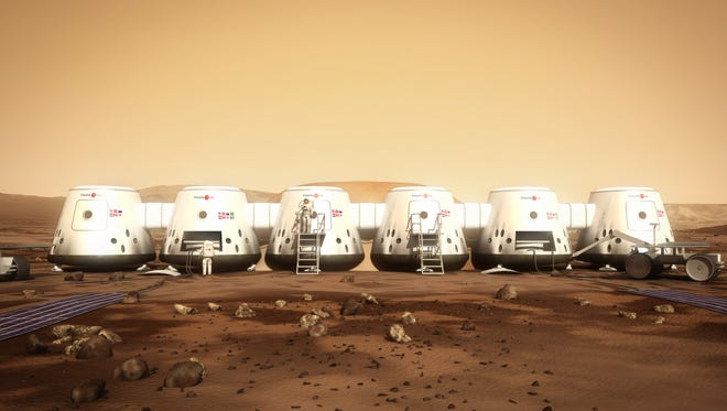 The journey to Mars would take half a year, and there are concerns if enough food can be shipped there, or even if humans can land on the dusty, radiation-filled environment through the thin atmosphere, experts have said.