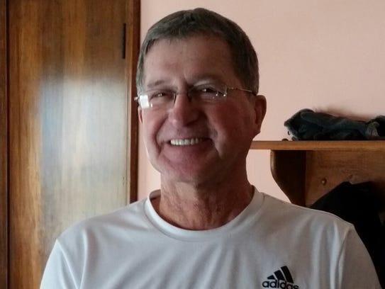 Lifelong Lucas resident, John Caugherty served in the U.S. Marine Corps during the Vietnam War.