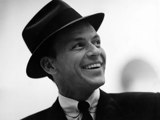 Frank Sinatra, at his dapper best, in 1956.