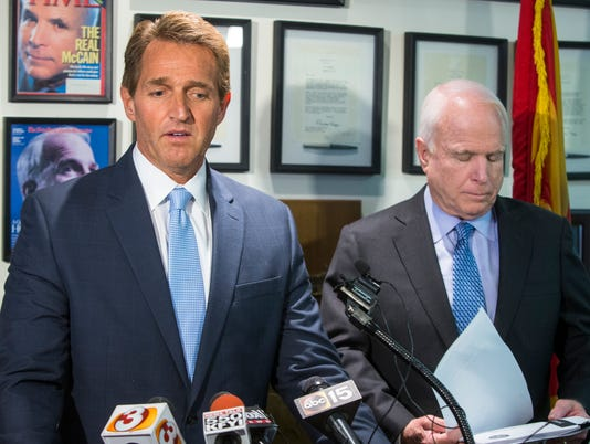 John McCain and Jeff Flake tax votes lose them fans and a legacy