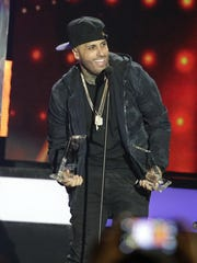 Singer Nicky Jam won the Hot Latin Song of the Year