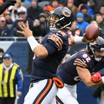Bears quarterback Matt Barkley threw 54 passes last week in his first start for the injured Jay Cutler.