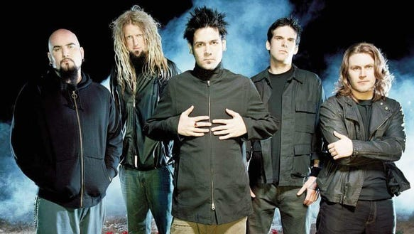 Rock band Adema plays in Fresno Saturday.