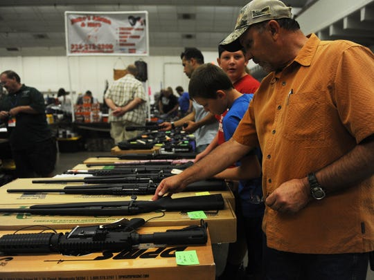 The winter gun and knife show runs through Sunday at the MPEC Exhibit Hall.