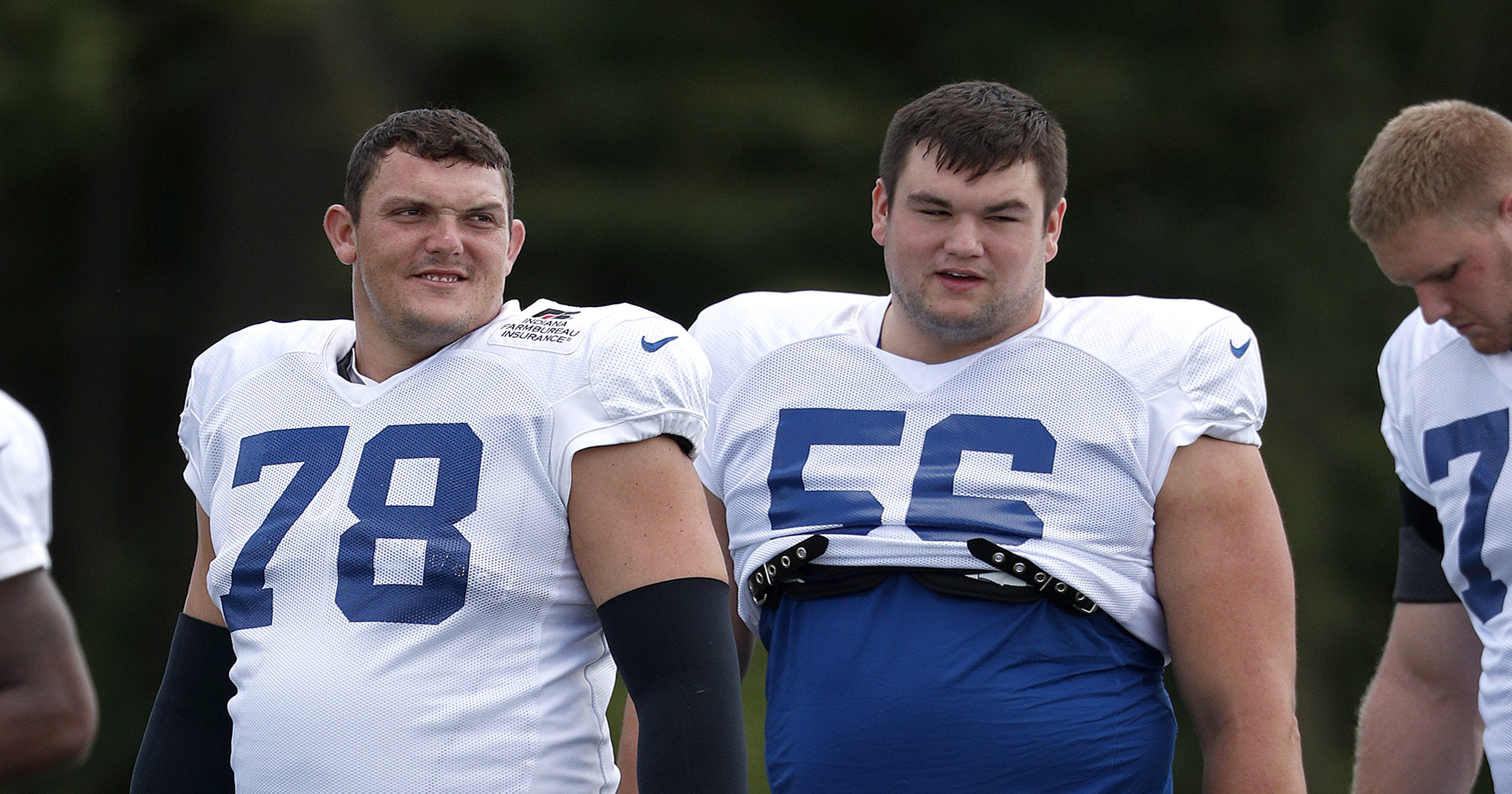 best service be0ff 9e8dd Doyel: Colts rookie Quenton Nelson will violently protect QB ...