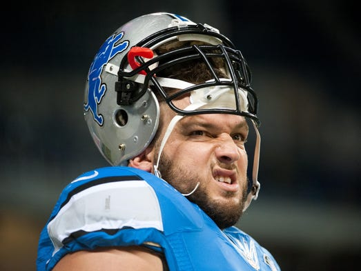 Dominic Raiola, C, Detroit Lions: Suspended one game