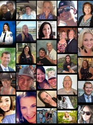 Victims of the Las Vegas shooting on 10/1/2017