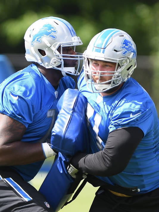 size 40 18ecc 9cbed Camp observations: Lions OT Rick Wagner dominates