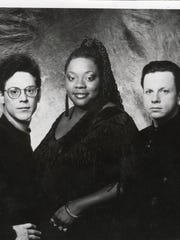 Thornetta Davis with the Chisel Brothers in the early '90s