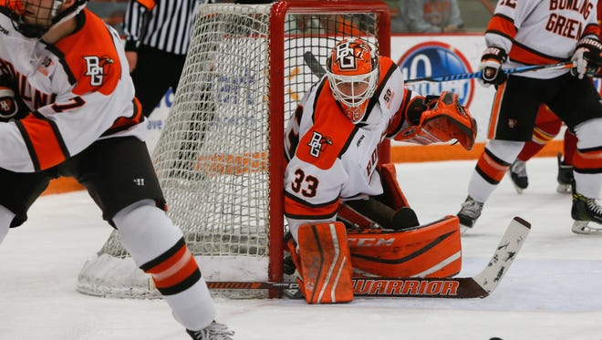 Chris Nell set Bowling Green State University career records for shutouts (11), goals-against average (2.07) and save percentage (.922). The former Green Bay Notre Dame all-state goalie signed an NHL entry-level contract with the New York Rangers on Thursday.