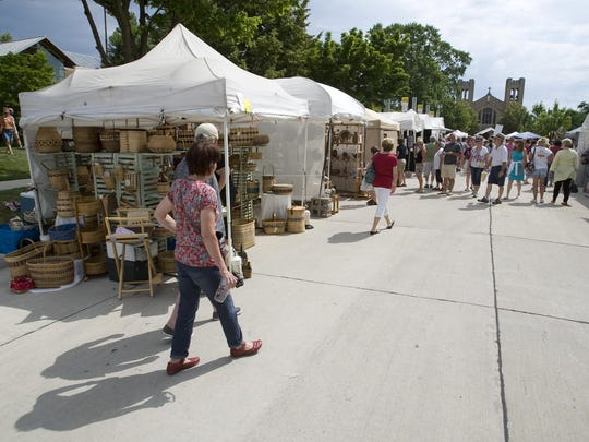 The John Michael Kohler Arts Center's annual Midsummer Festival of the Arts, which features juried artists, live music and special art activities, always draws a crowd