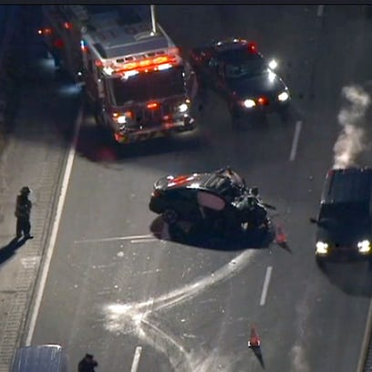 A fatal crash closed the southbound Sprain Brook Parkway
