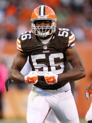 Former Cleveland Browns  linebacker Karlos Dansby said he came to Cincinnati to win a Super Bowl.