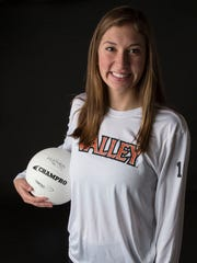 Madi Kubik, a junior at Valley, has been selected for