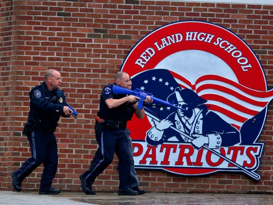 PHOTOS: Active shooter drill at Red Land