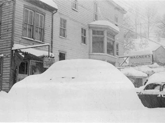 corner of Main and Church Streets, Glen Rock, mid 1940'ssubmitted