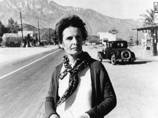 Agnes Pelton Found Her Muse In The Coachella Valley Desert