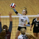 Gallery | Mercy Academy volleyball defeats Holy Cross 3-0.
