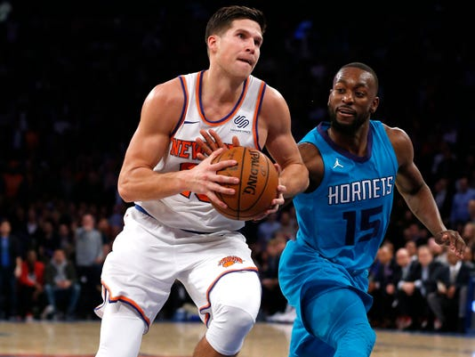 NBA: Charlotte Hornets at New York Knicks