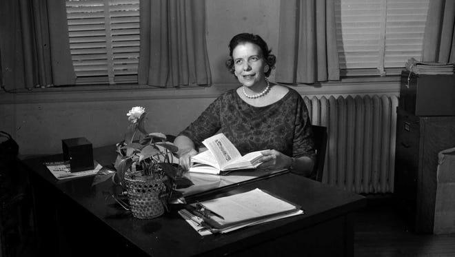 Dr. Grace Gardner, ca. 1959