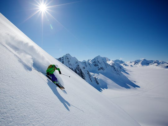Heli-skiing allows access to pristine snow and steep