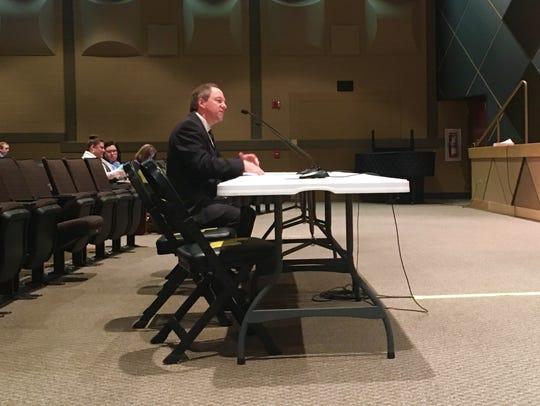 Red Lion Area School District Superintendent Scott