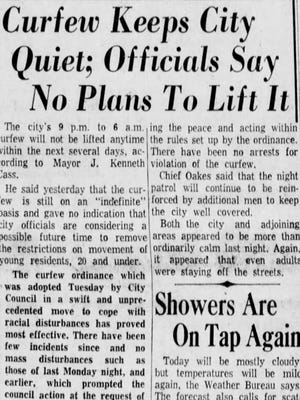 A newspaper clipping from The Greenville News on July 29, 1960.